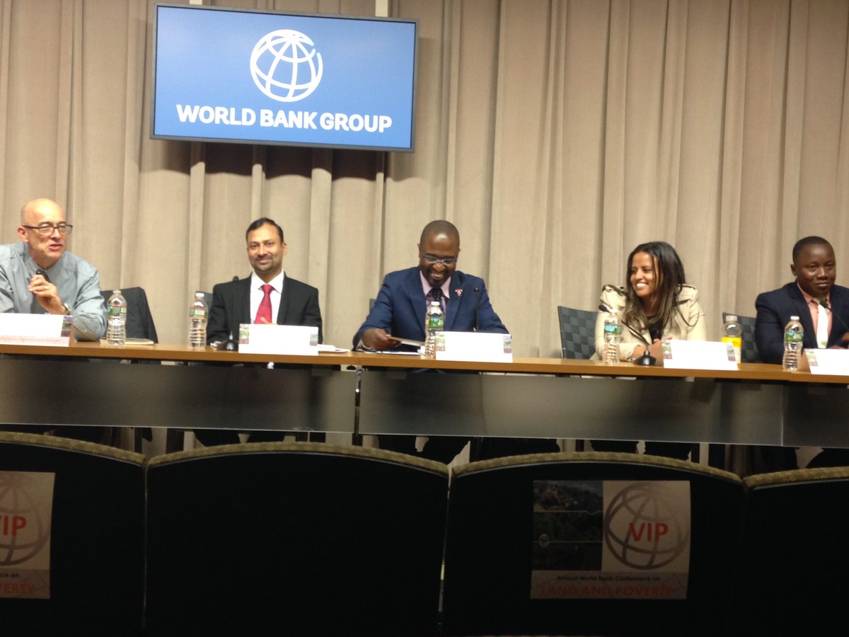 KELIN Showcases it's Work at the 18th Annual World Bank Conference on Land & Poverty