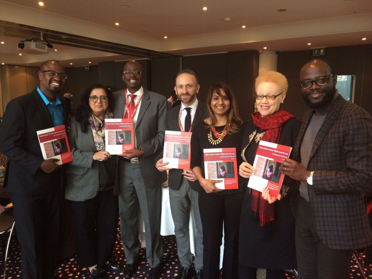 Global Communities united for a Human Rights-based Approach to Tuberculosis